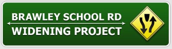 Lake Norman''s Brawley School Widening