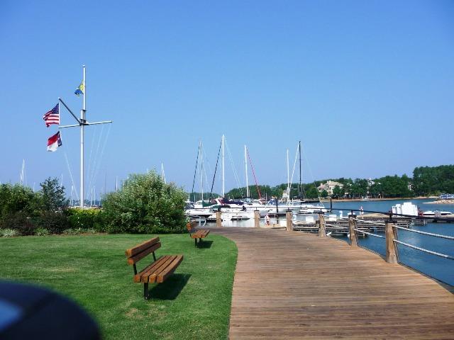 The Peninsula Yacht Club on Lake Norman