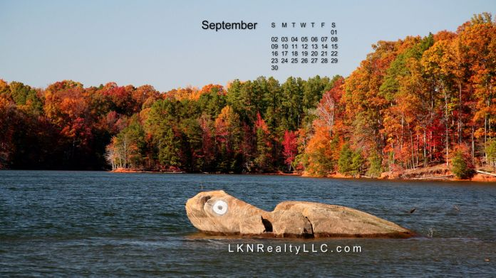 Lake Norman Real Estate's September 2012 calendar photo