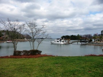 Lake Norman on a cloudy day