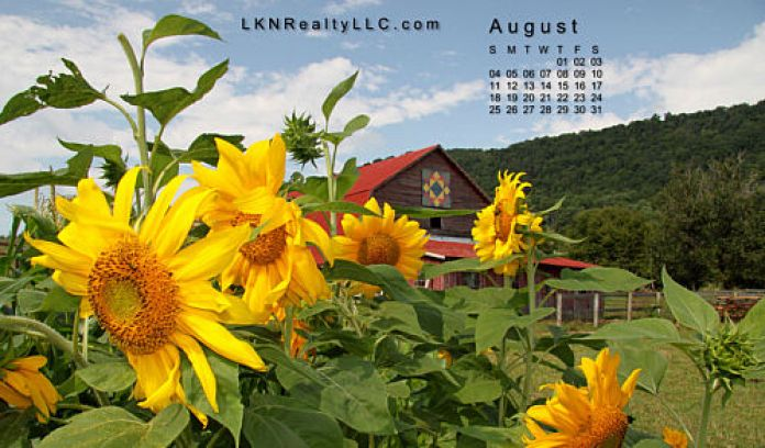 Lake Norman Real Estate's August 2013 Calendar