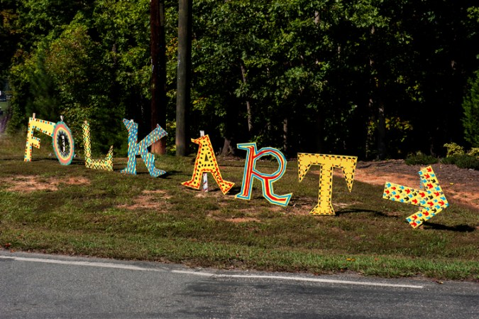 Lake Norman folk art festival 2013