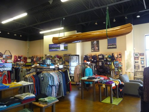 Bushy Mountain Clothing Store in Mooresville