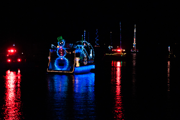 Photo from Lake Norman's Christmas Flotilla