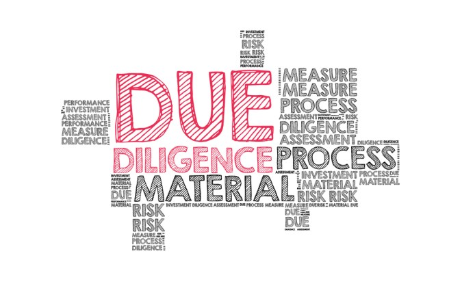 Due Diligence Fee and Period for buying a home