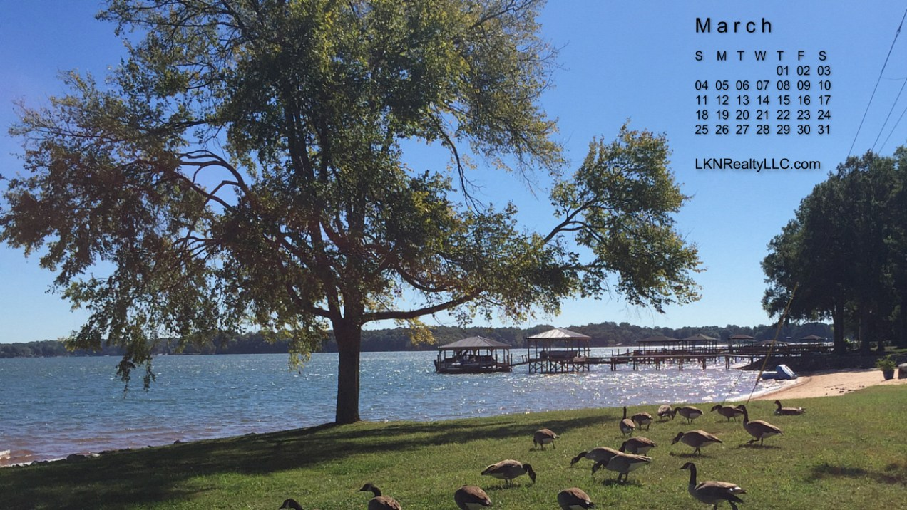 Lake Norman Real Estate Calendar Photo