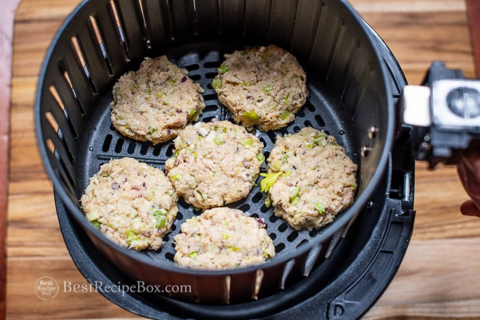 Crispy Air Fryer Tuna Patties Recipe Low Carb Best