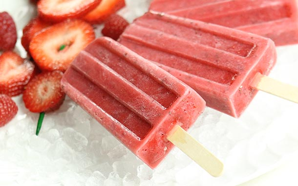 Very Berry Popsicles