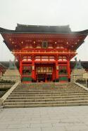 Fushimi Inari-taisha shrine early in the morning, Kyoto.
