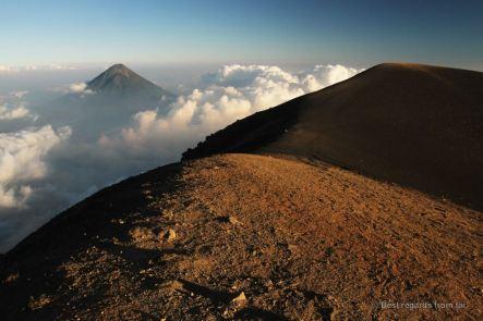 View on the Agua volcano, Guatemala