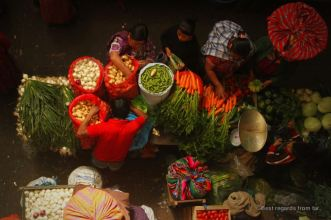 The colourful market of Totonicapan, Guatemala