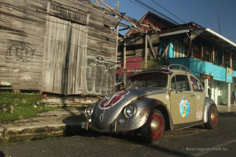 The past grandeur of Bocas Town, Panama