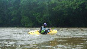 Kayaking the Sarapiqui river!