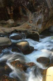 The hidden canyon of the Rio Colorado, Costa Rica