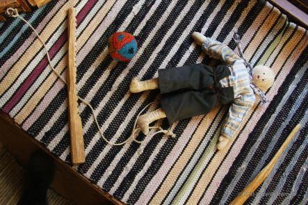 Traditional toy, Skansen, Stockholm, Sweden