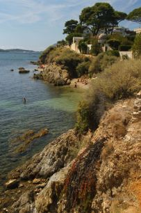 A lovely beach in the heart of Toulon