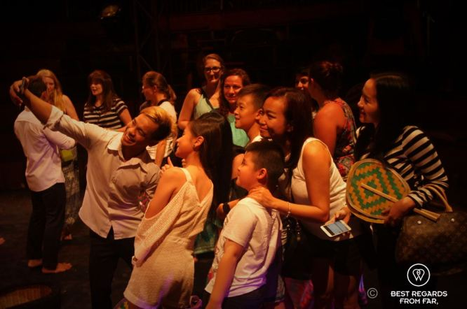 Living arts are a vector of empowerment at Phare the Cambodian Circus, Siem Reap, Cambodia