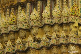 Details in the Grand Palace, Bangkok, Thailand