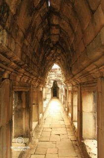 Gallery in Baphuon temple, Angkor, Cambodia