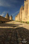 Ramparts of the Cité de Carcassonne, France