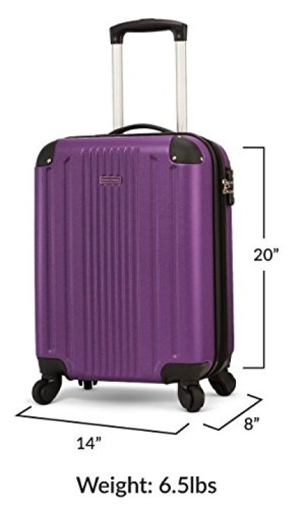 TravelCross Milano 20'' Carry On Lightweight Hardshell Spinner Luggage review