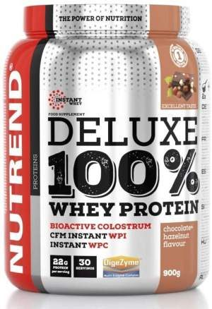 Nutrend Deluxe 100% Whey Protein Powder Shake