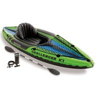 Intex Challenger K1 Kayak, 1-Person Inflatable