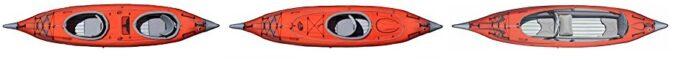 Advanced Frame Convertible Kayak