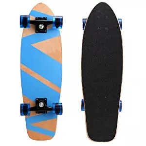 Ancheer 27-inch Cruiser Skateboard Complete
