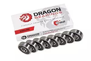 Fireball Dragon Precision Bearings for Skateboards