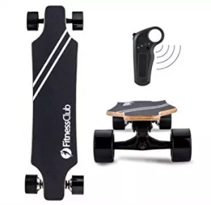 Fitnessclub Motorized Electric Skateboard