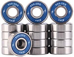 XiKe 16-pack 608-2RS Skateboard Bearings