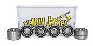 Yellow Jacket Premium Skateboard Bearings