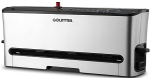 Gourmia GVS435 - Stainless Steel Vacuum Sealer