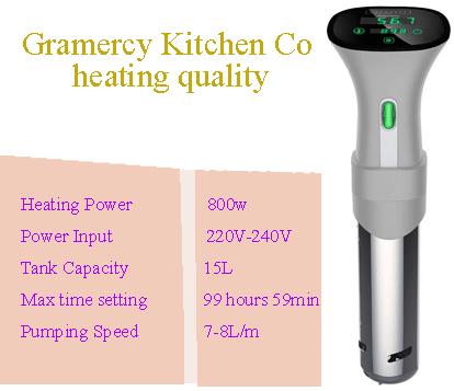heating quality Gramercy Kitchen Co bestreviewstar