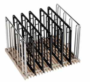 Everie 5 black PA & 2 SS sous vide rack bestreviewstar.com
