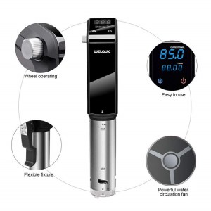 Borboom Sous Vide Precision Cooker Immersion Circulators design