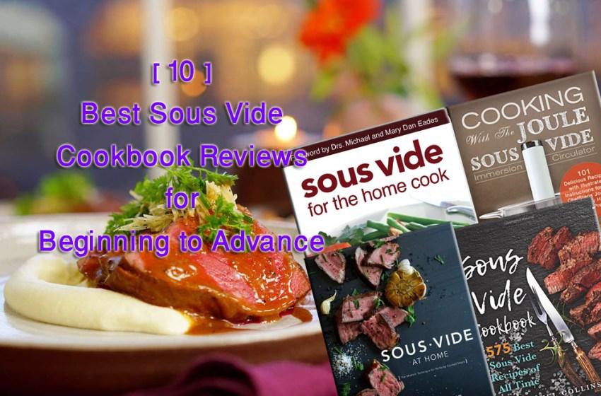 Best Sous Vide Cookbook