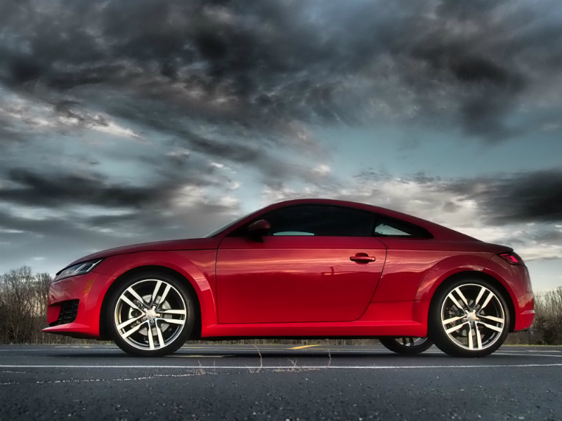 2016 Audi TT Coupe Photo Shoot 002