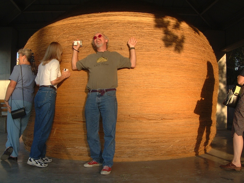Oh yeah, it's the World's Largest Ball of Twine | Best Road