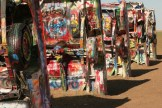 Cadillac Ranch, created by Stanley Marsh 3 and Ant Farm, Amarillo, TX