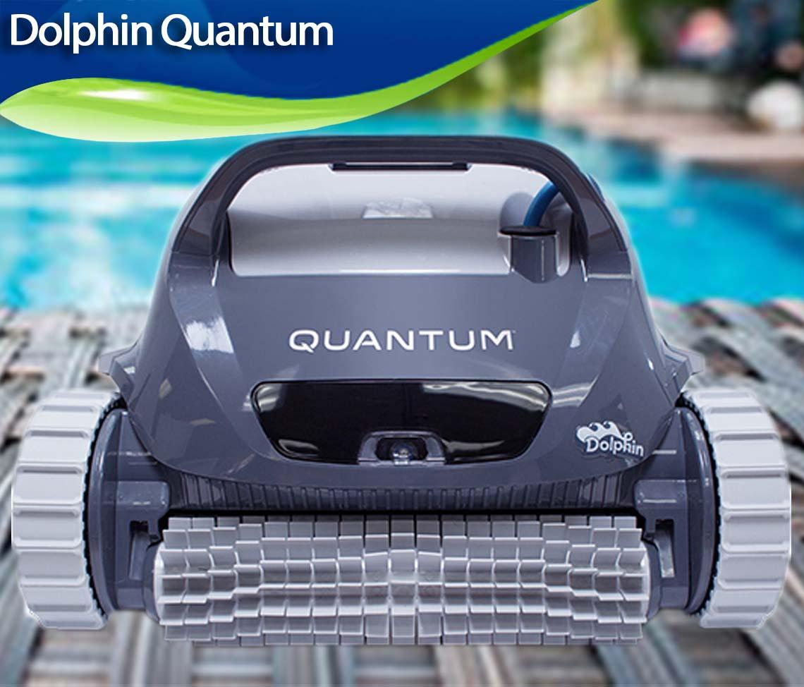 Dolphin Quantum Robotic Inground Pool Cleaner Review