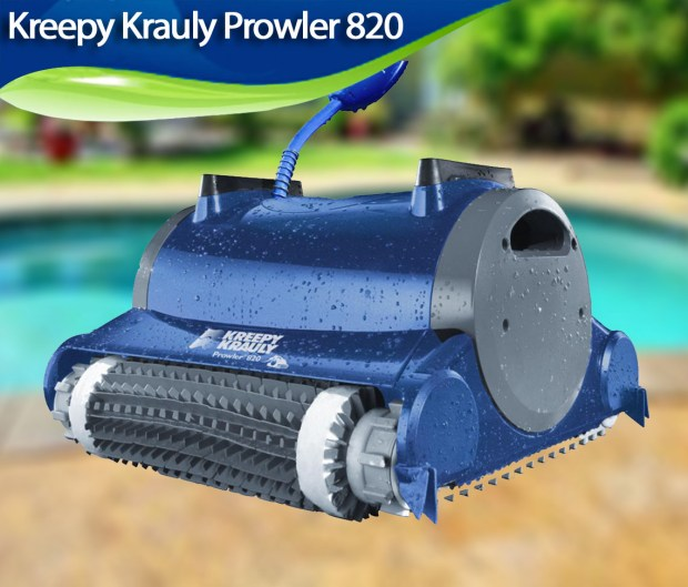 Kreepy Krauly Prowler 820 REVIEW - Best Robotic Pool Cleaners