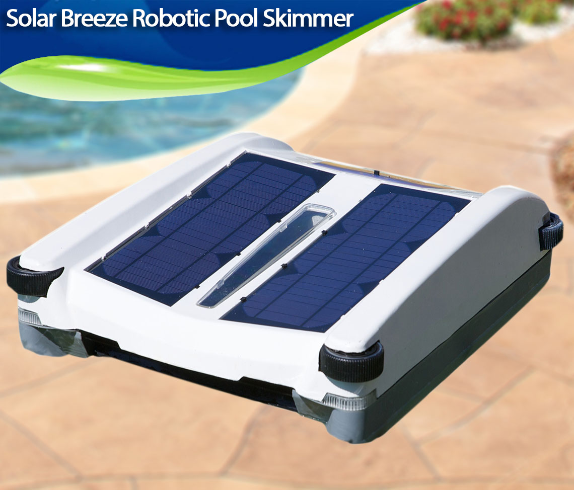 Solar Breeze Robotic Pool Skimmer Review Best Robotic