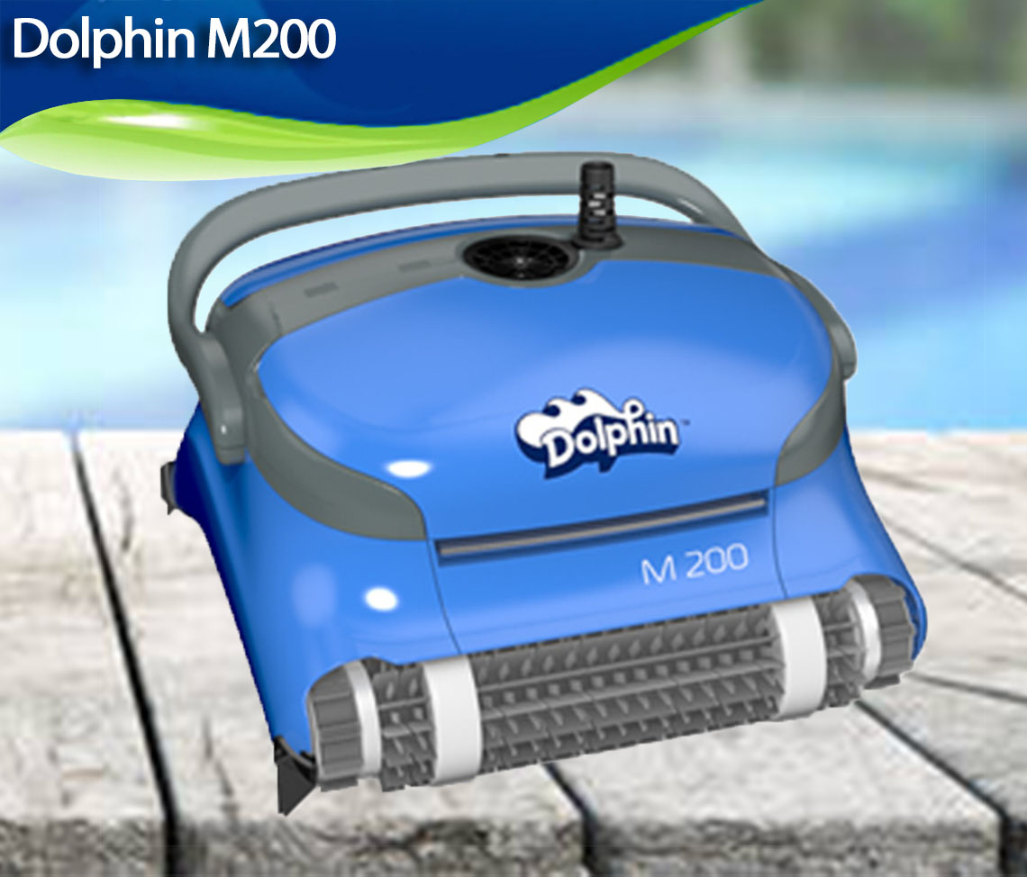 Maytronics Dolphin M200 Review Best Robotic Pool Cleaners