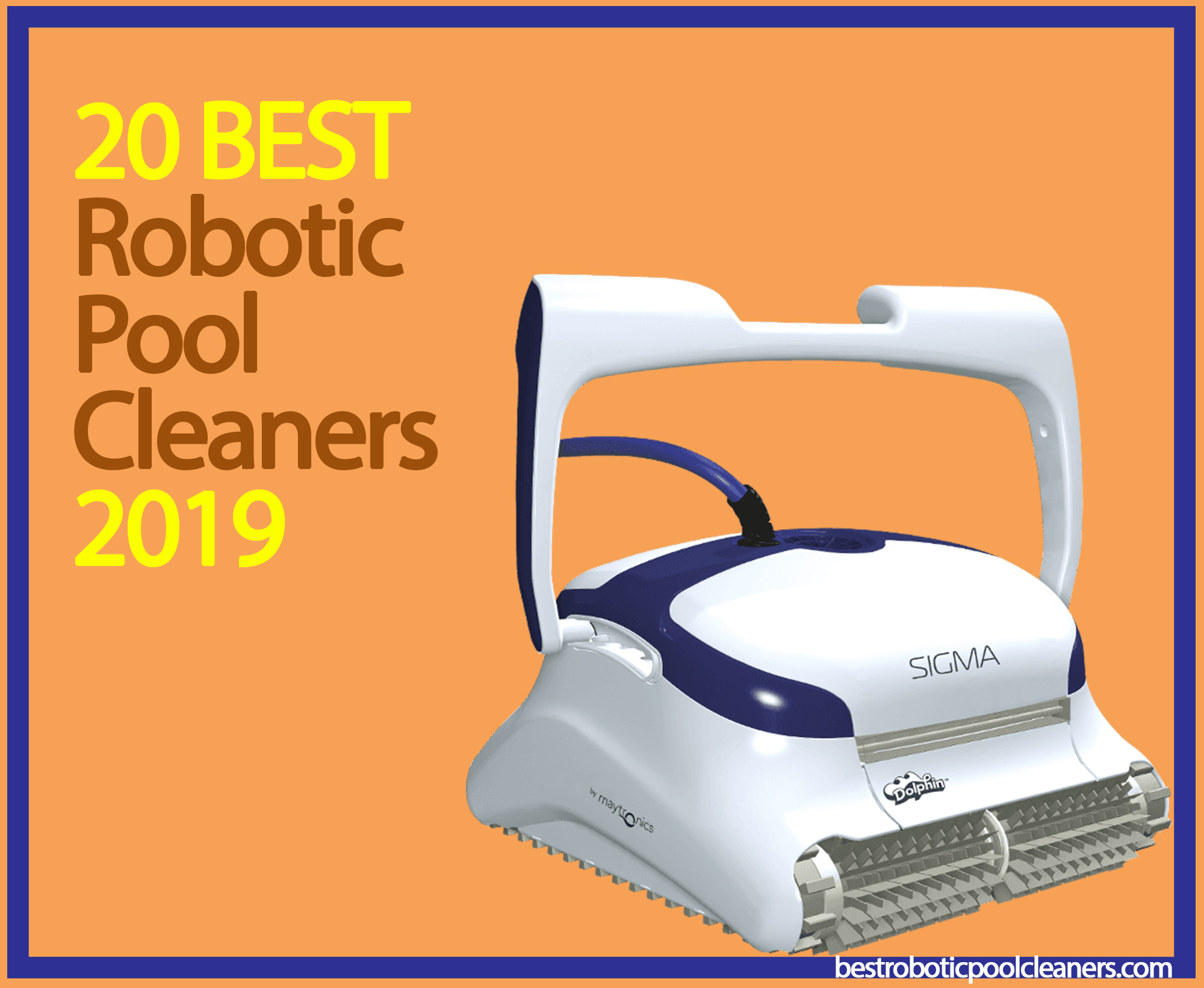 20 Best Robotic Pool Cleaners for 2019