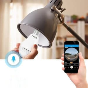 FREDI 360°Wide Camera Bulb review
