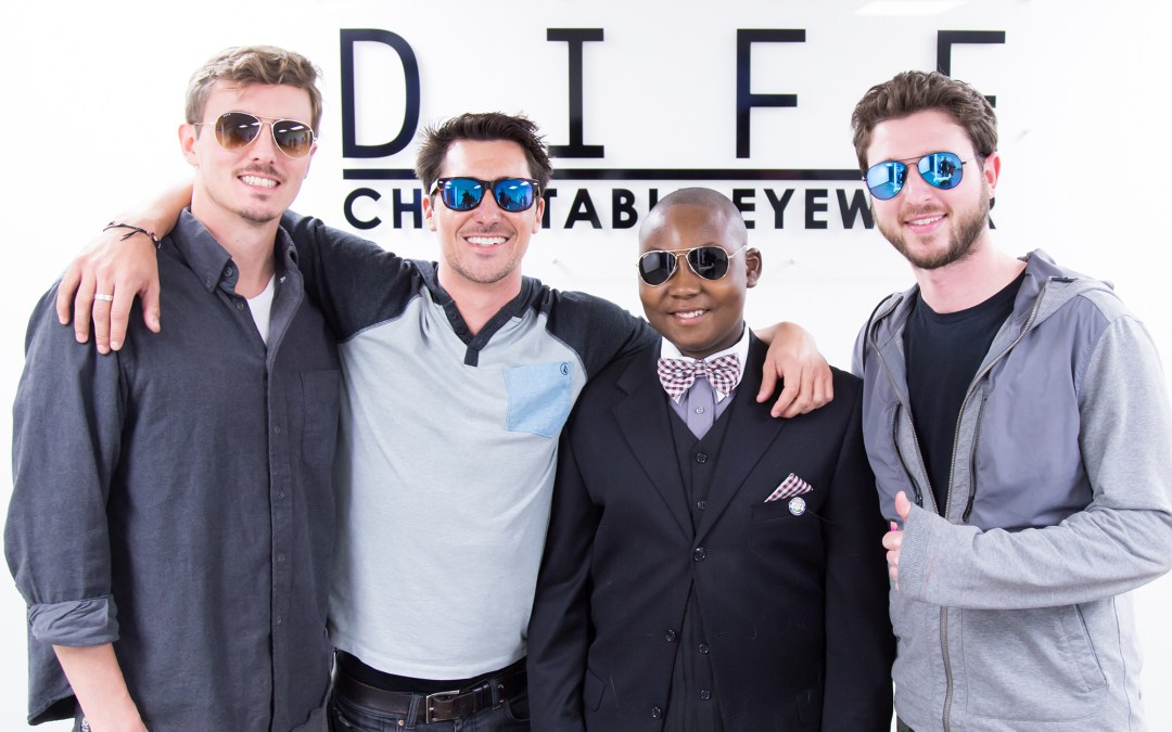 DIFF Charitable Eyewear Teams with Be Strong