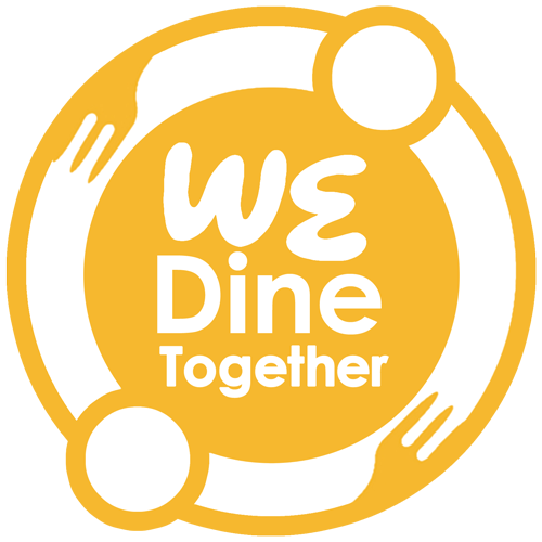 Be Strong » We Dine Together (WDT) Logo