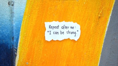Repeat After Me - I Can Be Strong